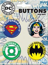 DC Comics - Vote Superheroes: 4-Piece Round
