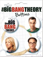 The Big Bang Theory - Carded 4 Button Set (Set 1)