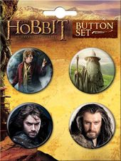 The Hobbit 4-Button Set #2