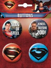 DC Comics - Superman: Man of Steel - 4-Piece