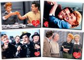 I Love Lucy - 4-Piece Magnet Set