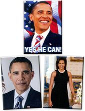 Barack Obama - Set of 3 Magnets