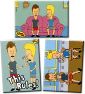 Beavis and Butt-Head - Set of 3 Magnets