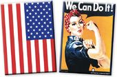 Patriotic Magnet Set - Rosie The Riveter /