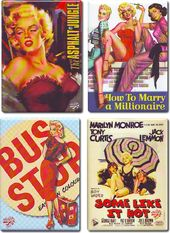 Marilyn Monroe - Set of 4 Magnets (Set 2)