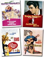 Elvis Presley - Movies - 4-Piece Magnet Set