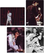 Elvis Presley - Performing - 4-Piece Magnet Set