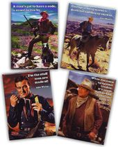 John Wayne - Quotes - 4-Piece Magnet Set