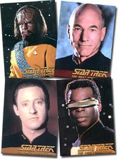Star Trek - The Next Generation: Set of 4 Magnets