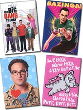 The Big Bang Theory - 4-Piece Magnet Set (Set 2)