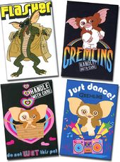 Gremlins - 4-Piece Magnet Set
