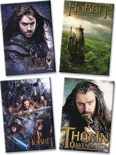 The Hobbit - Set of 4 Magnets