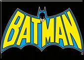 DC Comics - Batman - Magnet Yellow Name In Bat