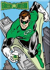 DC Comics - Green Lantern - Flying Over City -