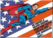DC Comics - Superman - Flag Background The