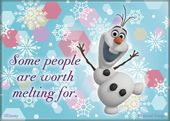 Disney - Frozen - Worth Melting For! - Magnet
