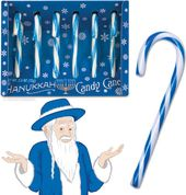 Hanukkah - 6-Pack of Candy Canes