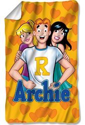 Archie Comics - Love Triangle Fleece Blanket