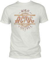 AC/DC - High Voltage - Fitted Jersey (Size: Adult