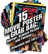 15 Movie Poster Grab Bag (Small): Horror, Science