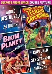 Sexpots From Space Double Feature: Voyage To The