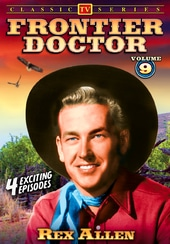 Frontier Doctor - Volume 9: 4-Episode Collection