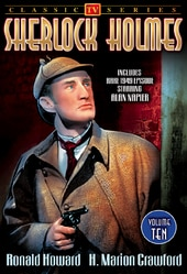 Sherlock Holmes - Volume 10 : 4-Episode Collection