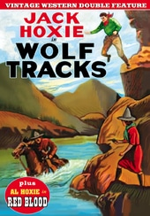 Wolf Tracks (1923) (Silent) / Red Blood (1925)