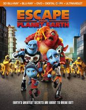 Escape from Planet Earth (Blu-ray + DVD)