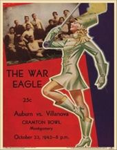College Football - Auburn vs Villanova - 1942