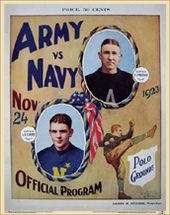 College Football - Army vs Navy - 1923 Poster