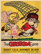 College Football - Georgia Tech vs Georgia - 1955