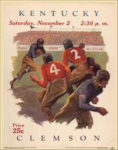 College Football - Kentucky vs Clemson - 1929