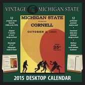 Michigan State Spartans - Vintage 2015 Desktop