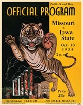 College Football - Missouri vs Iowa State - 1934
