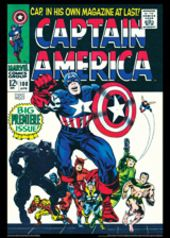 Vintage Marvel Posters - Captain America #100
