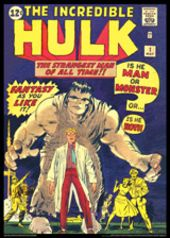 Vintage Marvel Posters - The Hulk #1