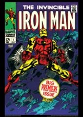 Vintage Marvel Posters - Iron Man #1