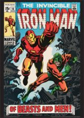Vintage Marvel Posters - Iron Man #16