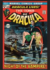 Vintage Marvel Posters - Tomb of Dracula #1
