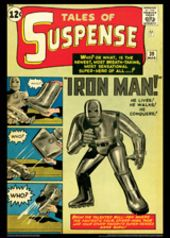 Vintage Marvel Posters - Tales of Suspense #39