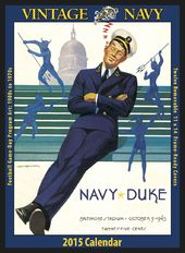 Navy Midshipmen - Vintage 2015 Football Calendar