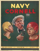 College Football - Navy vs Cornell - 1948 Poster