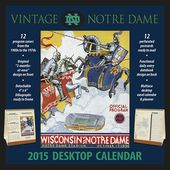 Notre Dame Fighting Irish - Vintage 2015 Desktop