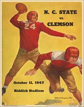 College Football - NC State vs Clemson - 1947