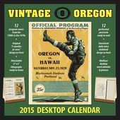 Oregon Ducks - Vintage 2015 Desktop Football