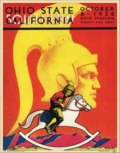 College Football - Ohio State vs USC - 1938 Poster