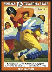 Oklahoma State Cowboys - Vintage 2015 Football