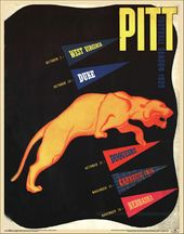 College Football - Pittsburgh - 1939 Poster