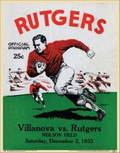 College Football - Rutgers vs Villanova - 1933